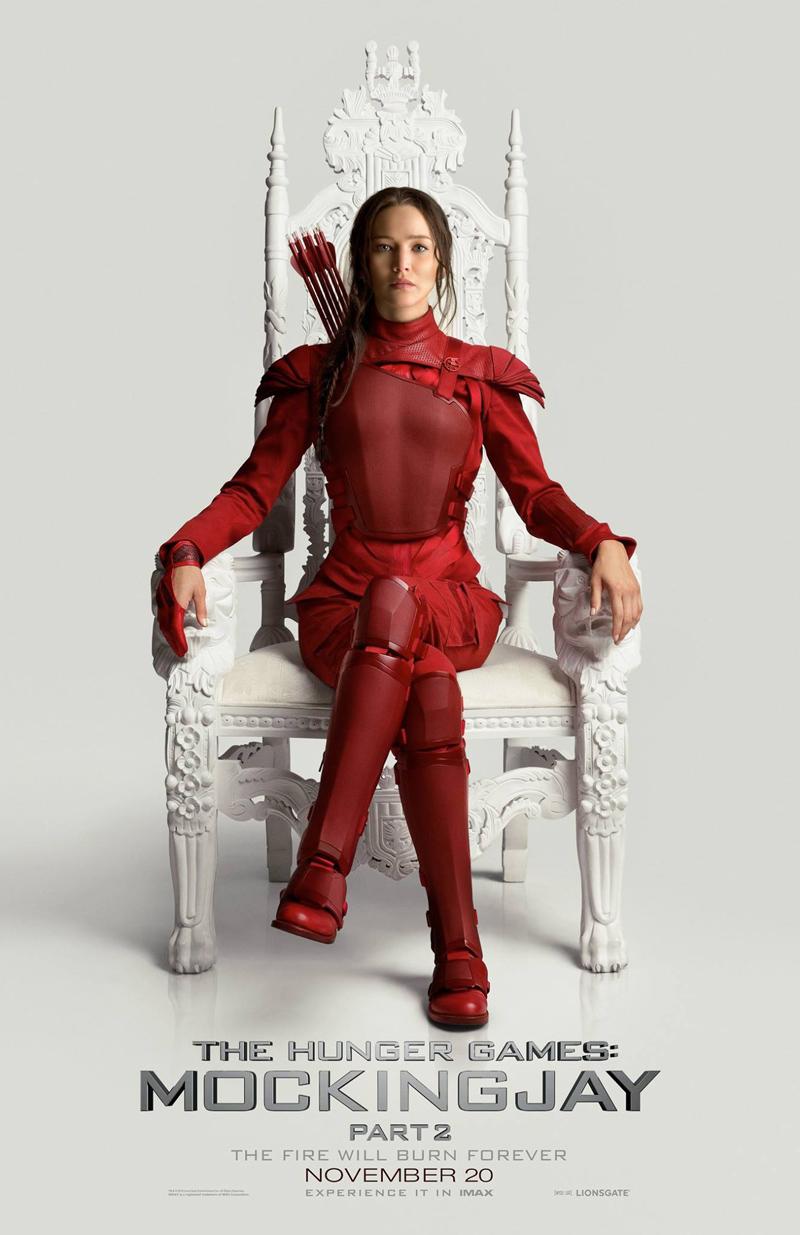 Hunger Games: il canto della rivolta - Parte 2: Katniss Everdeen nel nuovo poster del film