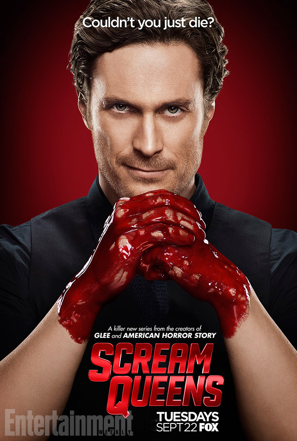Scream Queens: il character poster di Oliver Hudson