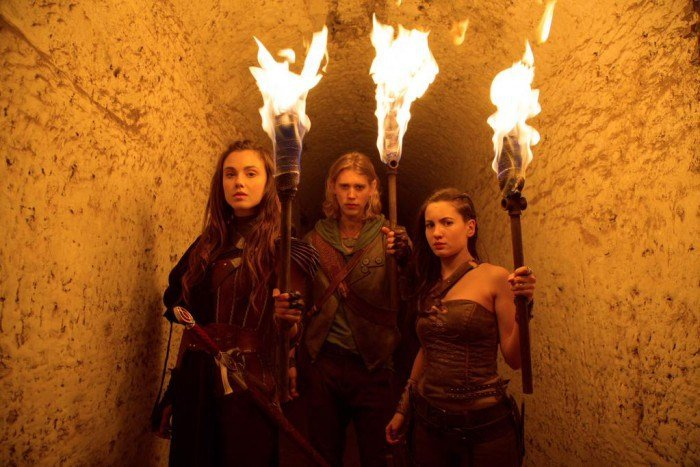 The Shannara Chronicles: Ivana Baquero, Austin Butler e Poppy Drayton