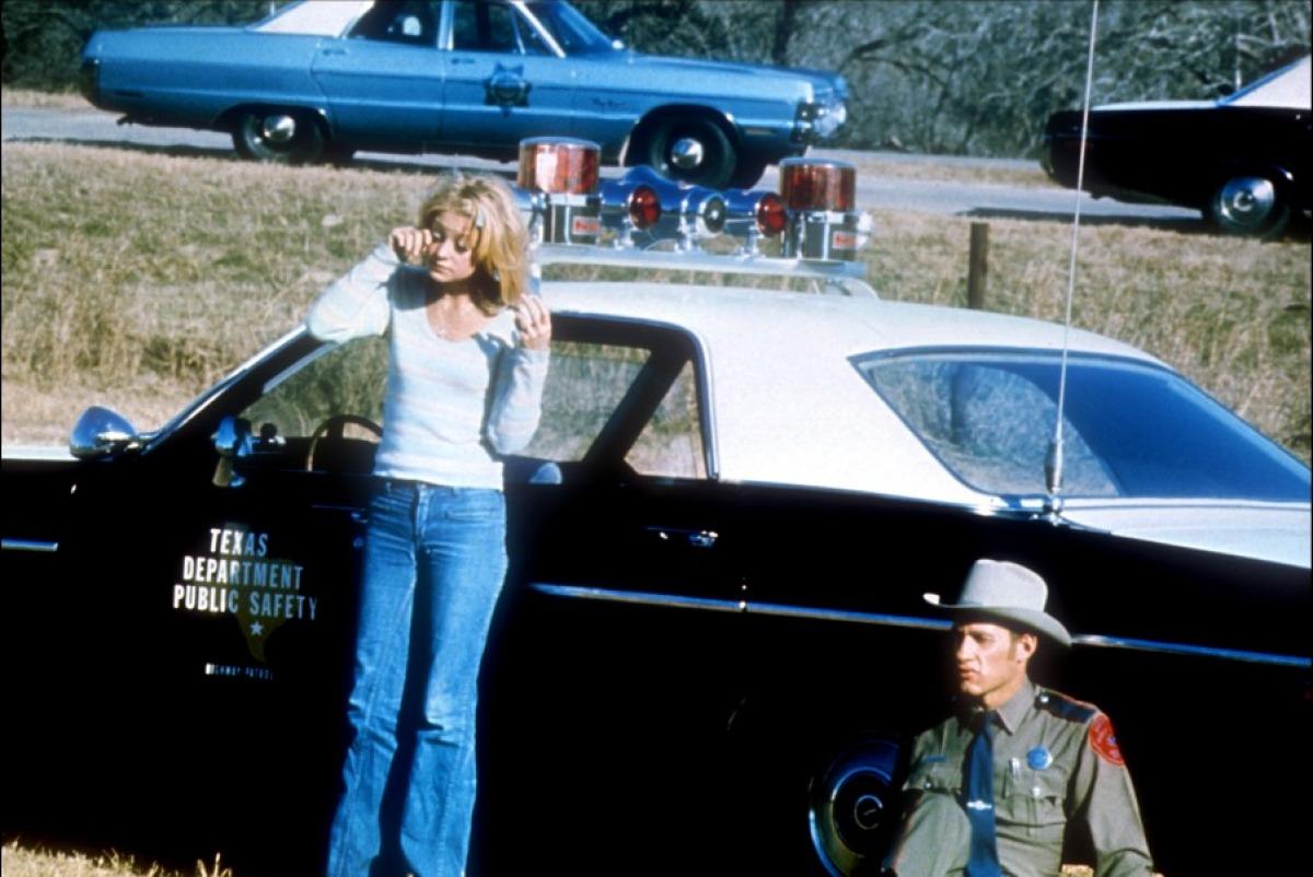 Goldie Hawn in una scena di Sugarland Express