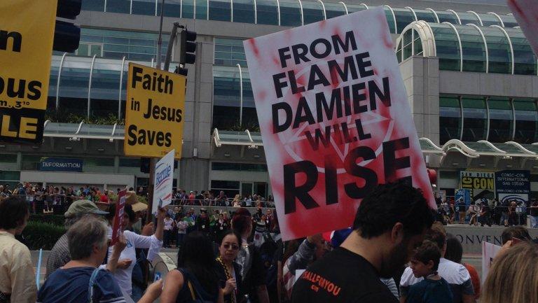 Damien: la campagna promozionale al Comic-Con