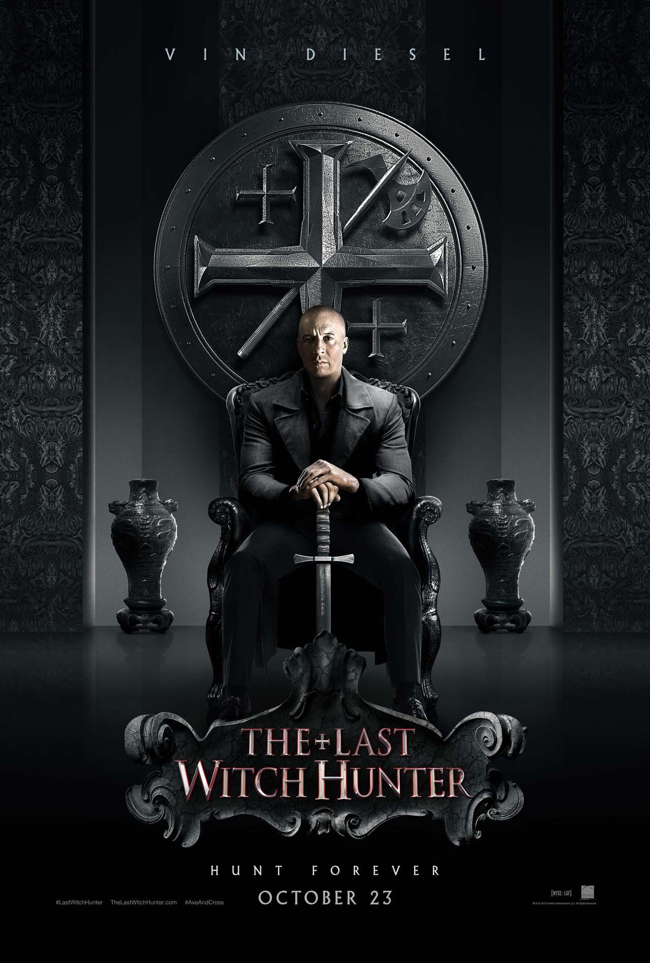 The Last Witch Hunter: il poster del film con protagonista Vin Diesel
