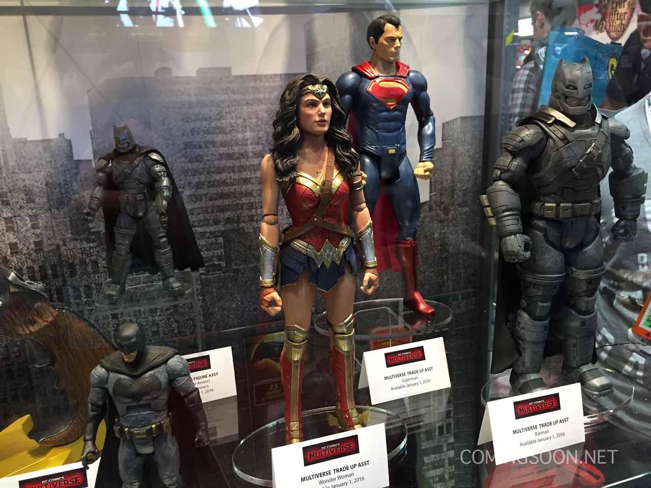 Batman v Superman: Dawn of Justice - Il modellino di Wonder Woman