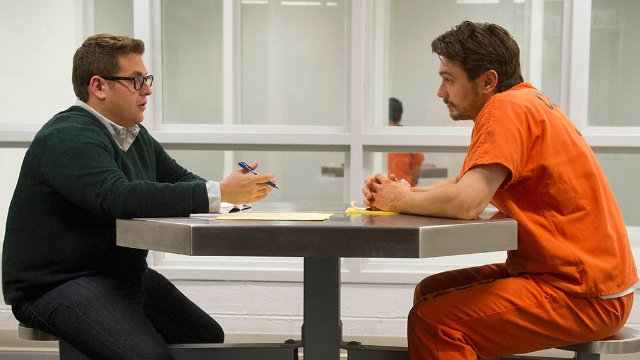 True Story: James Franco con Jonah Hill in una scena del film