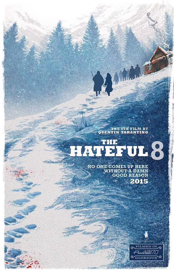 The Hateful Eight: il nuovo poster presentato al Comic-Con