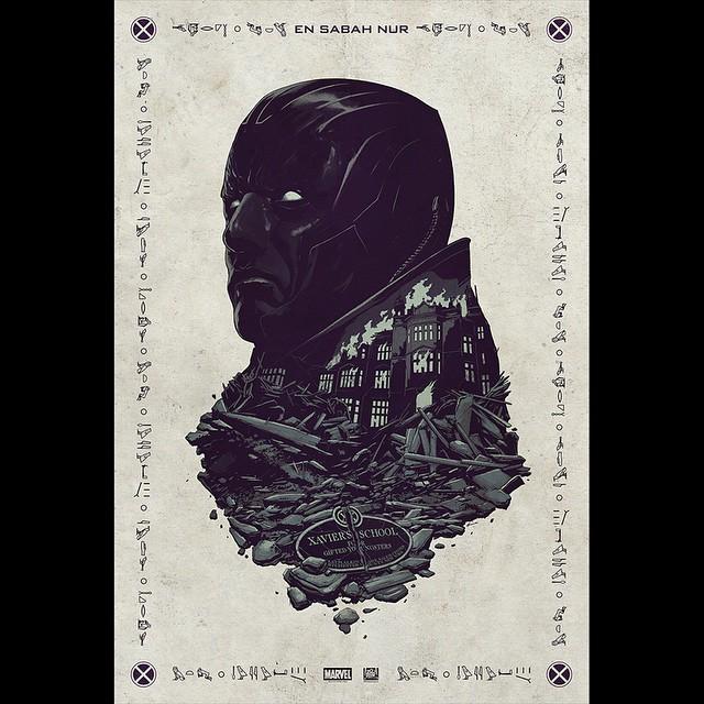 X-Men: Apocalypse - Il poster del San Diego Comic-Con mostra Apocalypse
