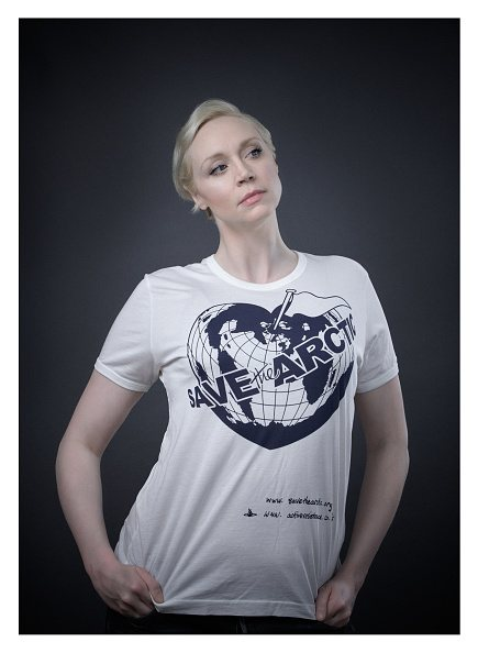 Save the Arctic: l'attrice Gwendoline Christie