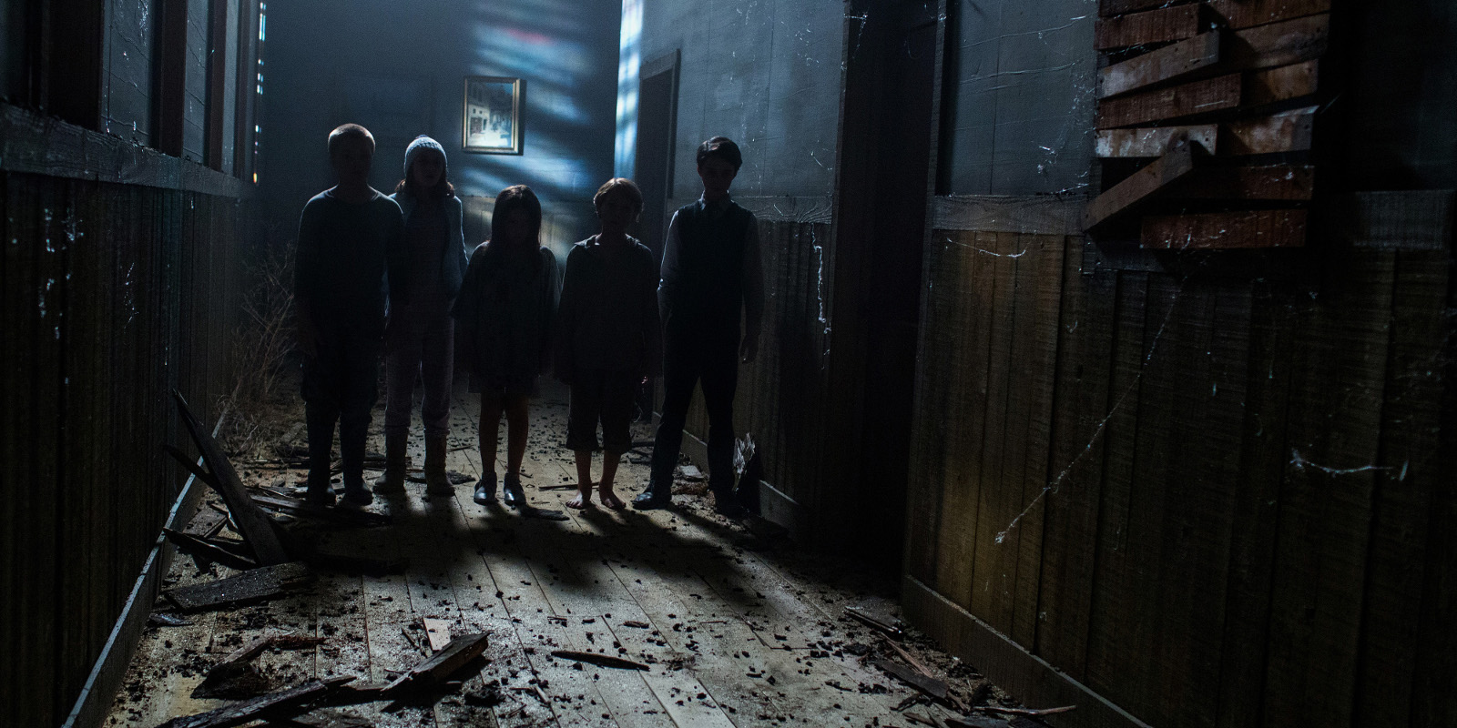 Un'inquietante immagine dell'horror Sinister 2