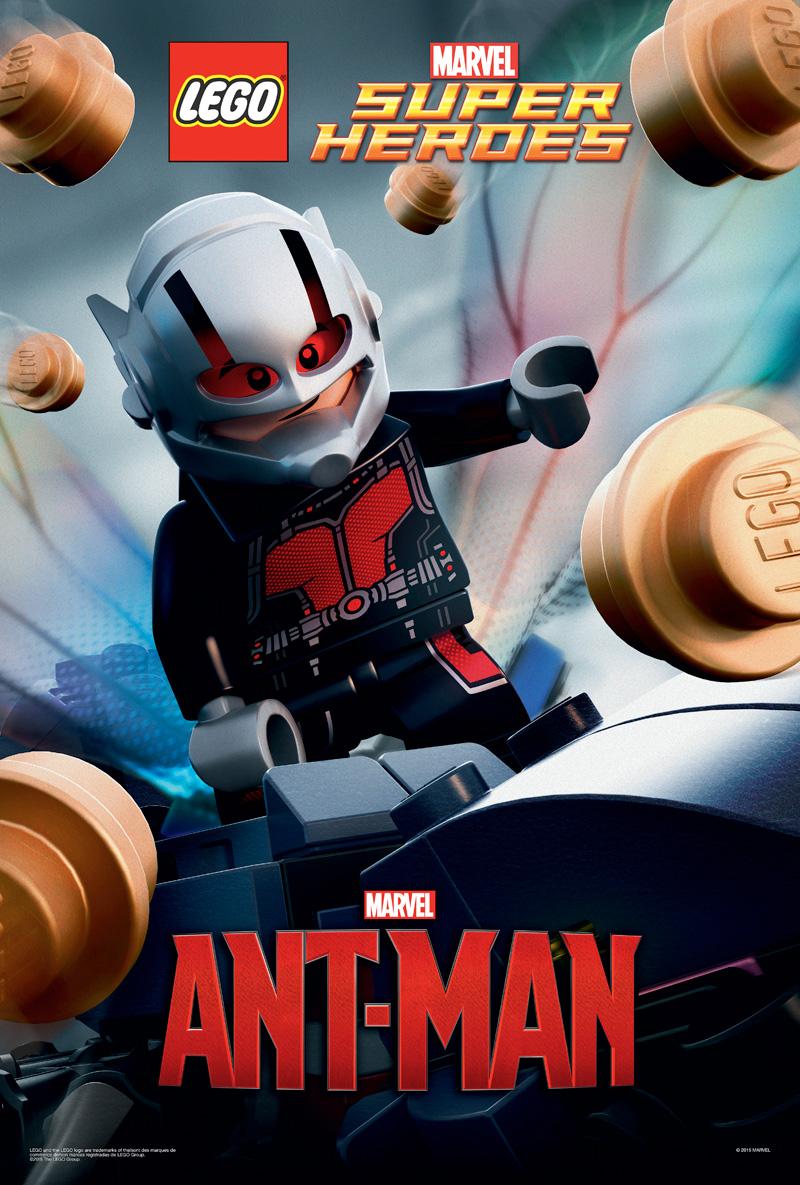 Ant-Man: il poster della LEGO dedicato al film