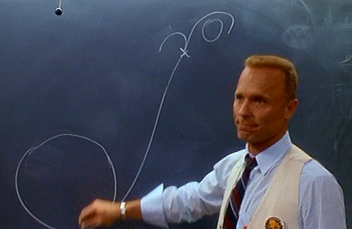 Ed Harris in Apollo 13