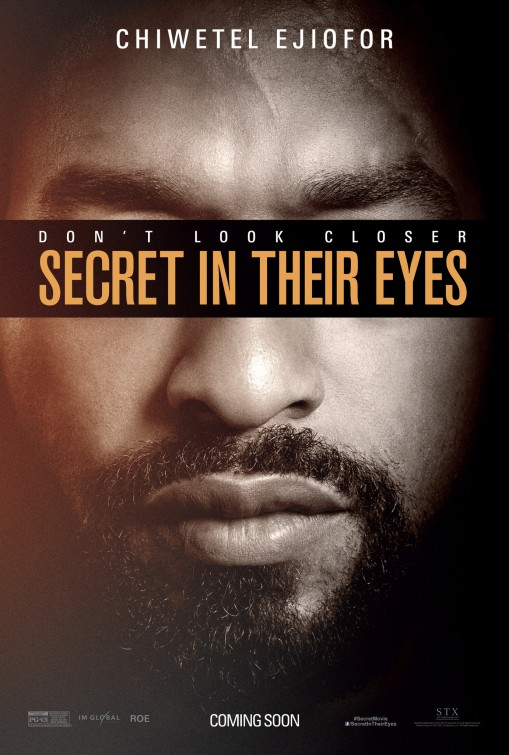 Secret in Their Eyes: il character poster di Chiwetel Ejiofor