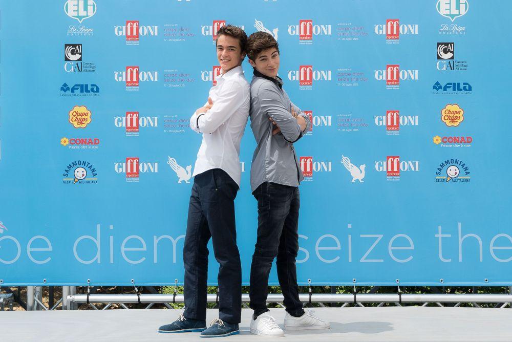 Alex & Co.: Federico Russo e Leonardo Cecchi a Giffoni Experience