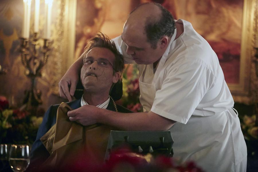 Hannibal: l'attore Joe Anderson interpreta Mason Verger nell'episodio Dolce