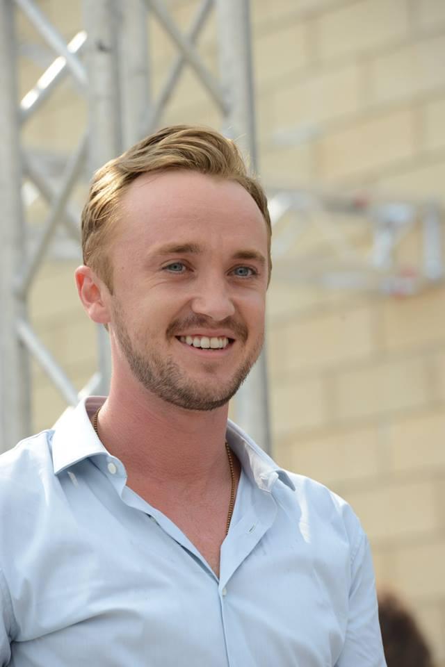 Tom Felton sorride a Giffoni Experience