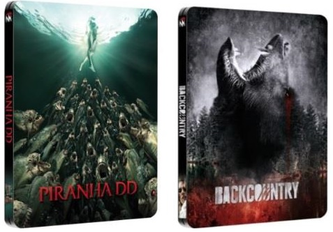 Le cover di Piranha 3DD e Backcountry