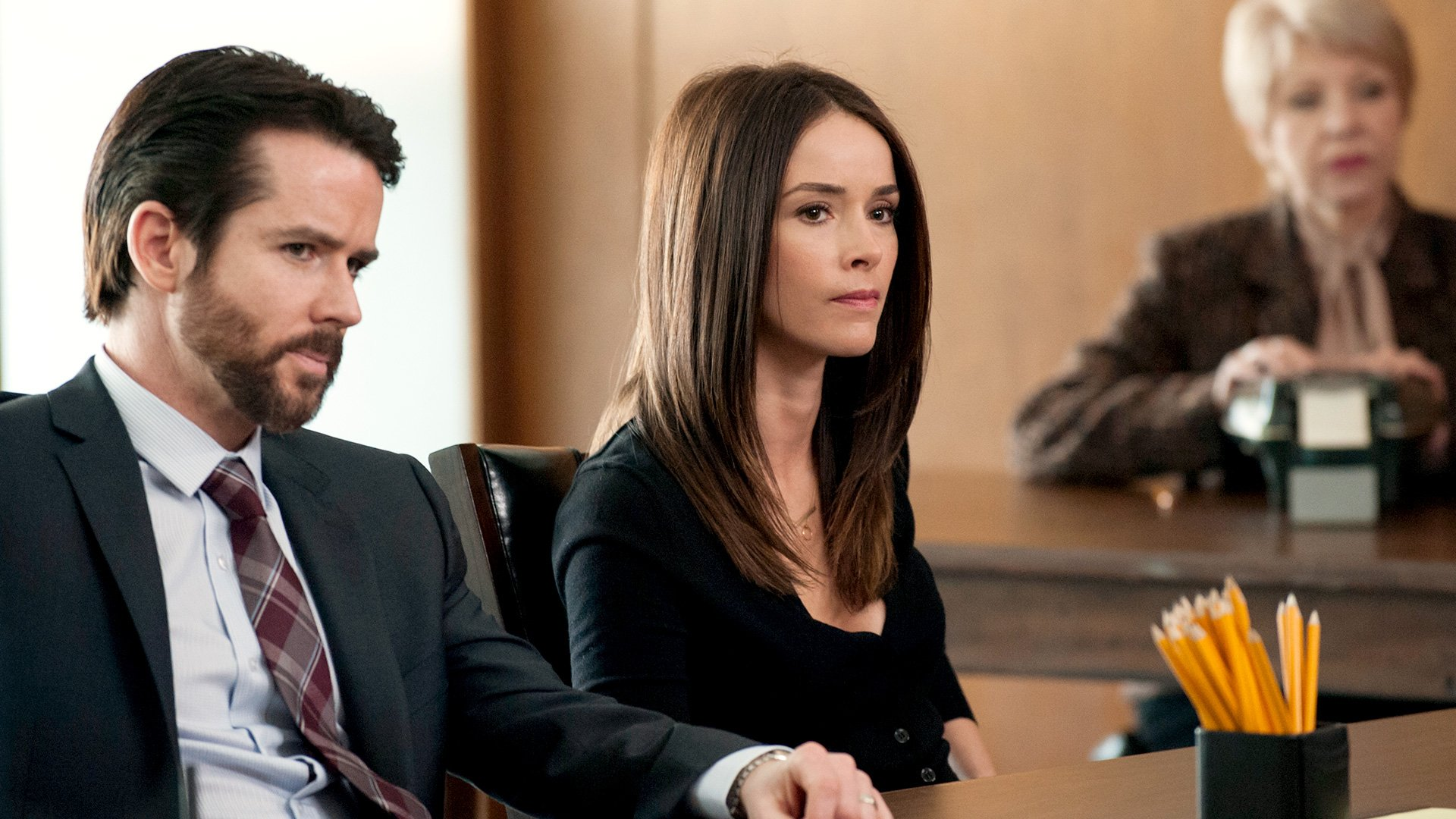 True Detective: Christian Campbell e Abigail Spencer nell'episodio Other Lives