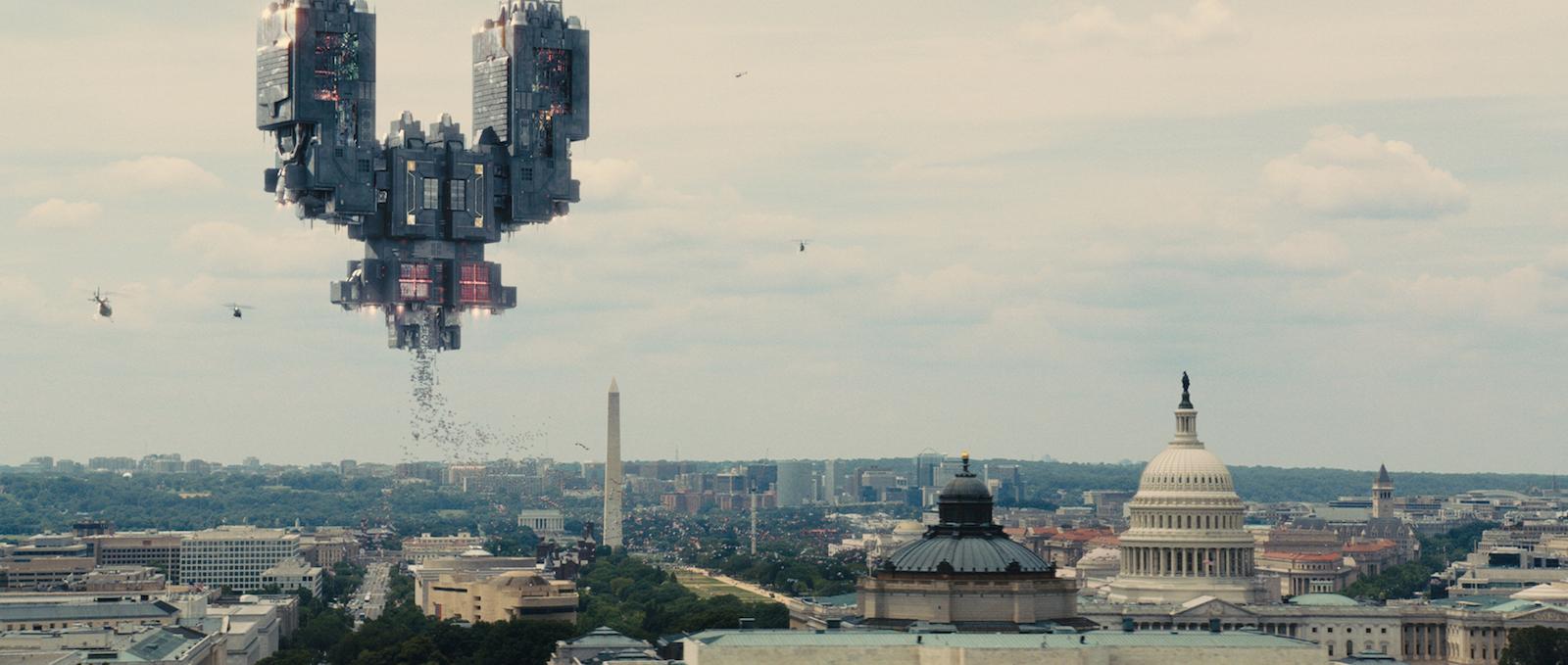 Pixels: Una scena dell'invasione