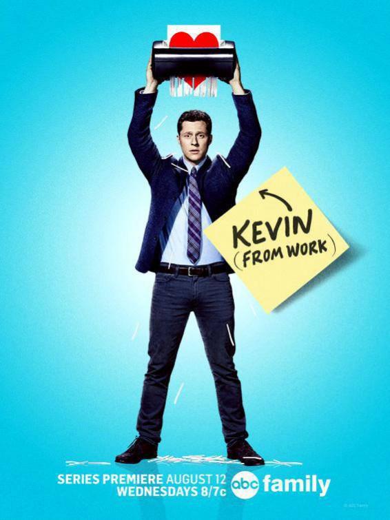 Kevin From Work: la locandina della serie