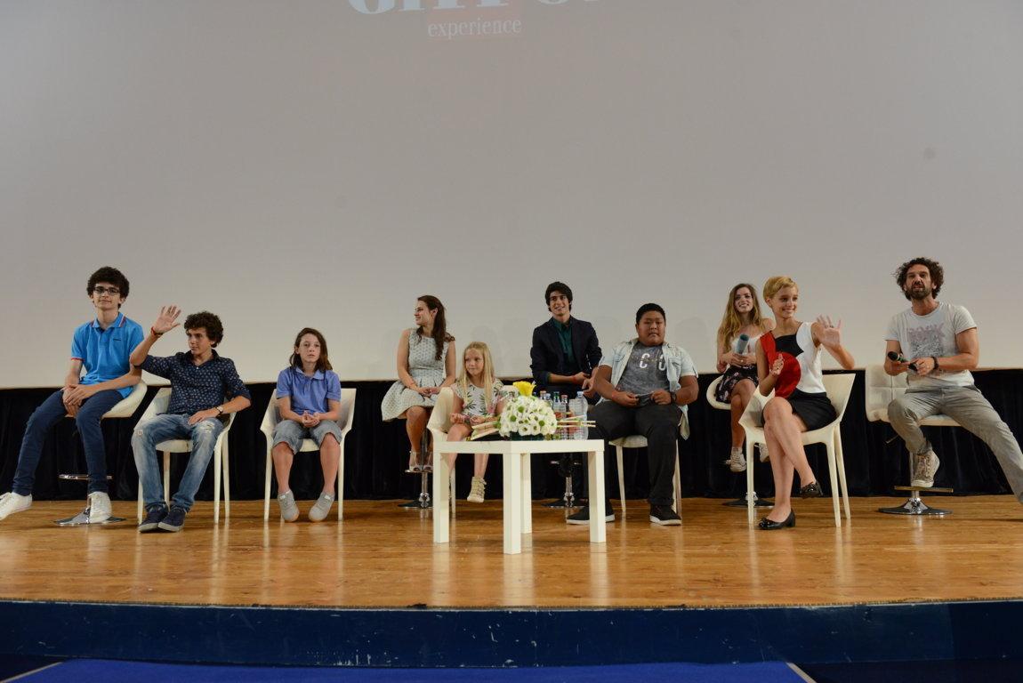 Braccialetti rossi: il cast incontra il pubblico del Giffoni 2015