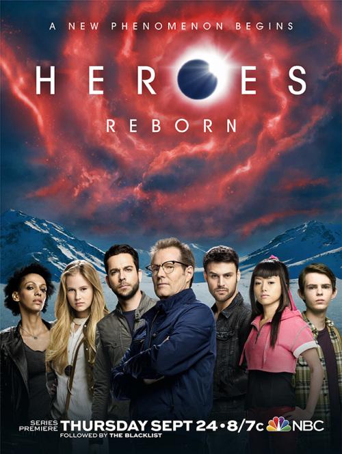 Heroes Reborn: un poster della nuova serie della NBC