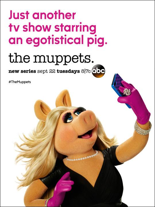 The Muppets: il character poster di Miss Piggy