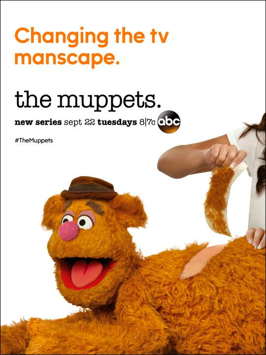 The Muppets: il character poster di Fozzie