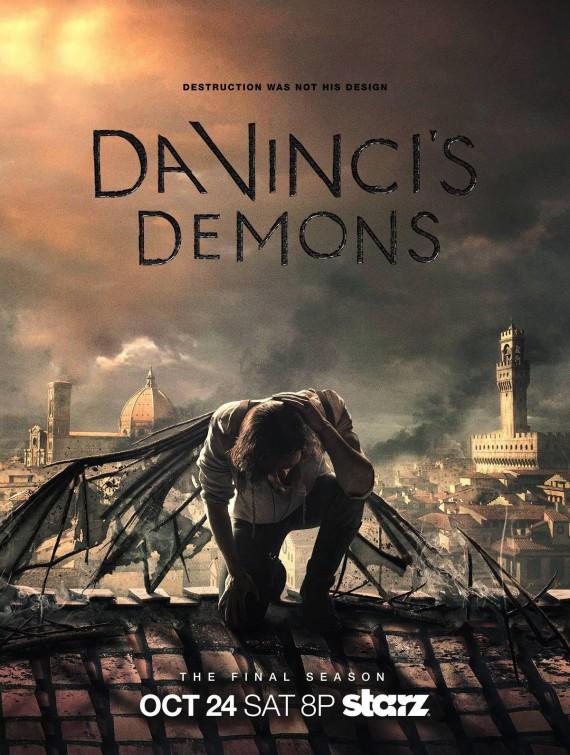 Da Vinci's Demons: la locandina della terza stagione