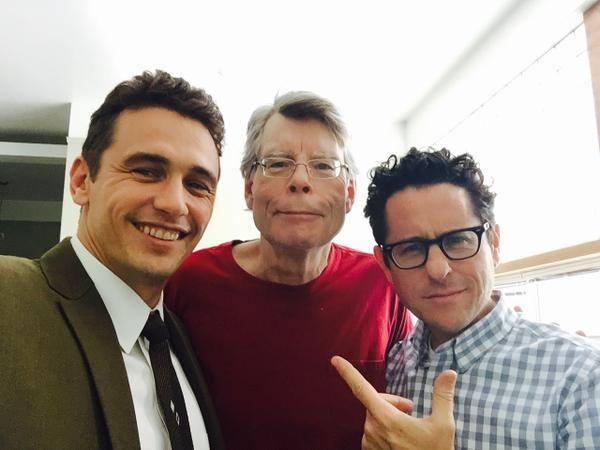 11/22/63: James Franco, Stephen King e J.J. Abrams sul set