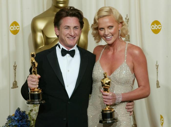 Oscar 2008: i vincitori Charlize Theron e Sean Penn
