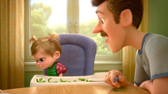 Inside Out: Riley disprezza i peperoni nella versione giapponese