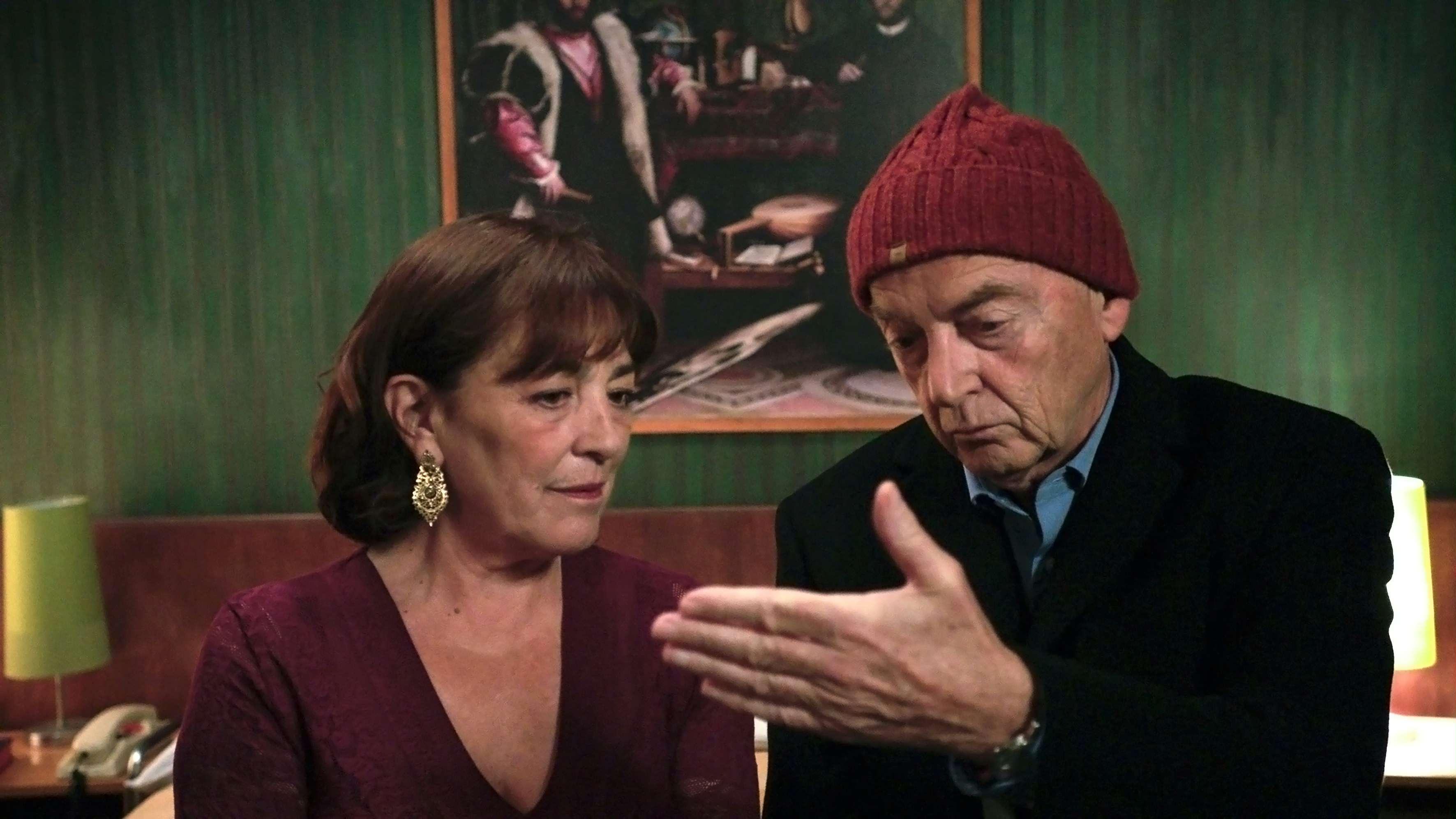 La vanitè: Carmen Maura e Patrick Lapp in una scena