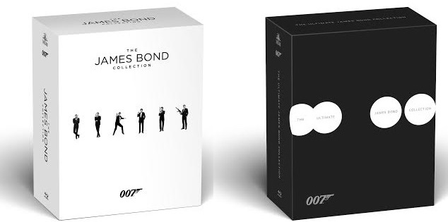 I package de The Ultimate James Bond Collection