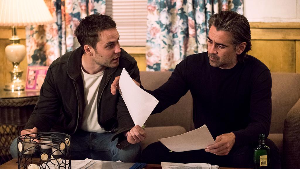 True Detective: gli attori Taylor Kitsch e Colin Farrell in Black Maps and Motel Rooms