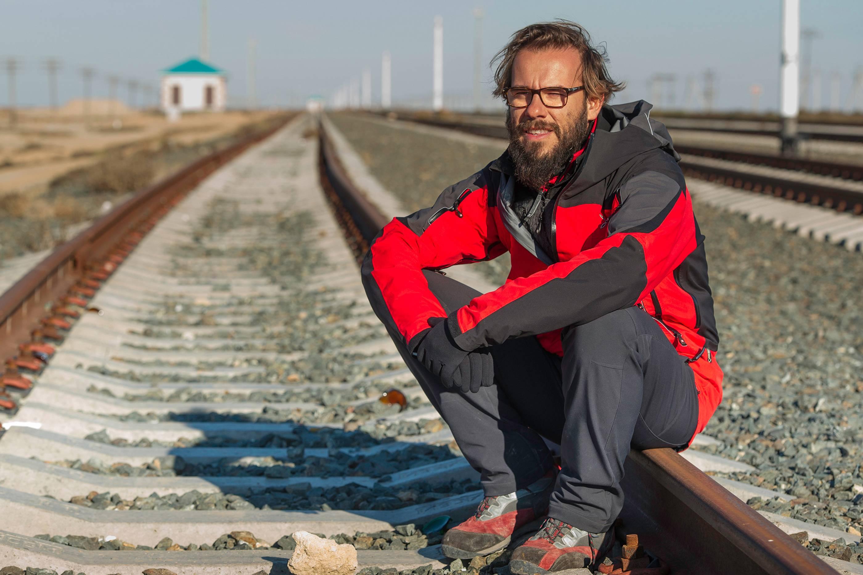 I sogni del lago salato: un'immagine del regista Andrea Segre