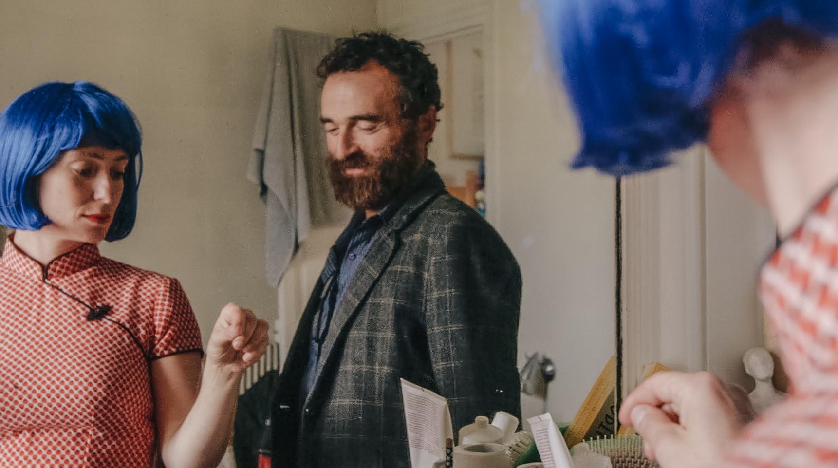 Olmo & the Seagull: Olivia Corsini e Serge Nicolai in una scena