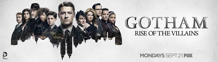 Gotham: una key art della seconda stagione