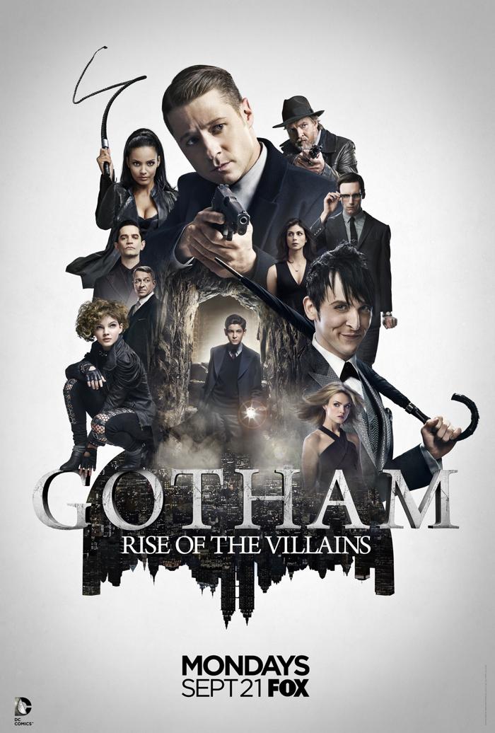 Gotham: la locandina della seconda stagione