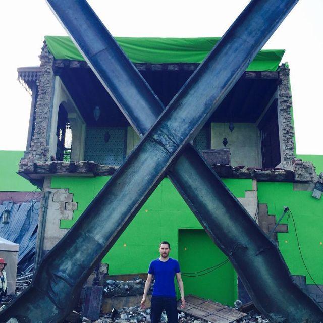 X-Men: Apocalypse - Bran Singer sul set del film