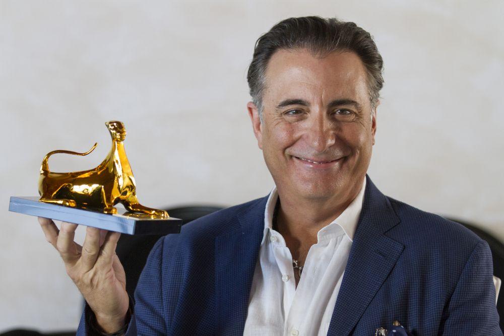 Locarno 2015: Andy Garcia con il pardo d'onore del Leopard Club Award
