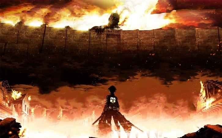 L'attacco dei giganti Il film - Parte II: Le ali della libertà, un'immagine tratta dal film d'animazione