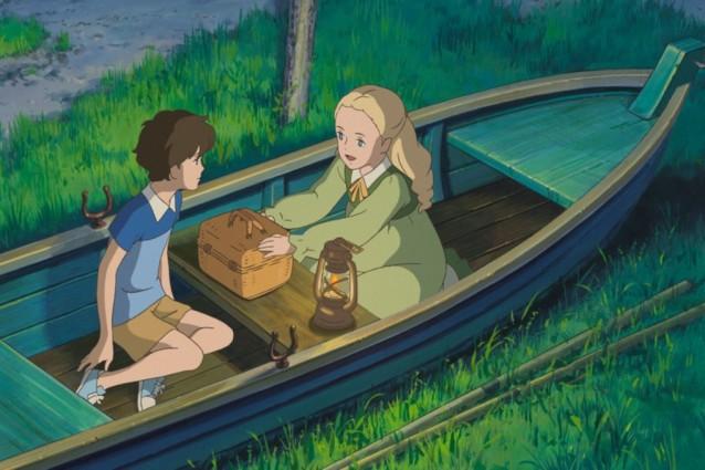 Quando c'era Marnie: Marnie e Anna in un'immagine tratta dal film d'animazione