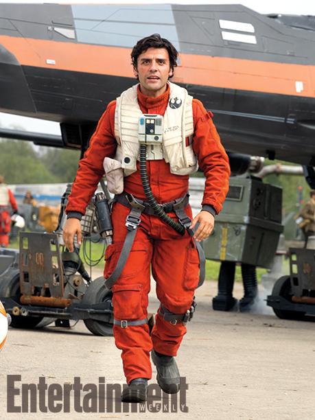 Star Wars: Episodio VII - Il Risveglio della Forza: Oscar Isaac in una foto del film