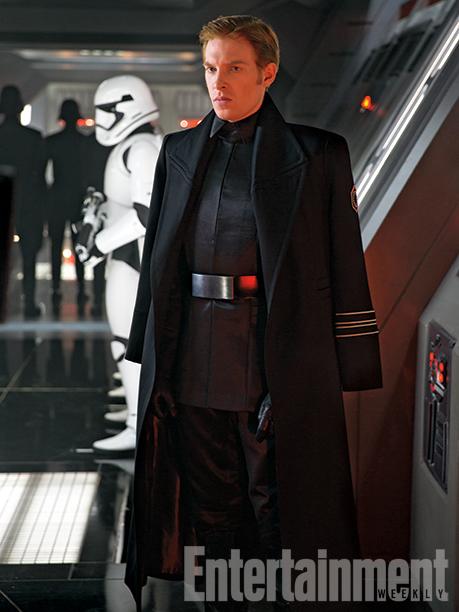 Star Wars: Episodio VII - Il Risveglio della Forza - Domnhall Gleeson interpreta il generale Hux