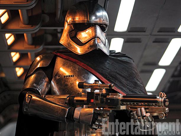 Star Wars: Episodio VII - Il Risveglio della Forza - Gwendoline Christie nel ruolo di Captain Phasma