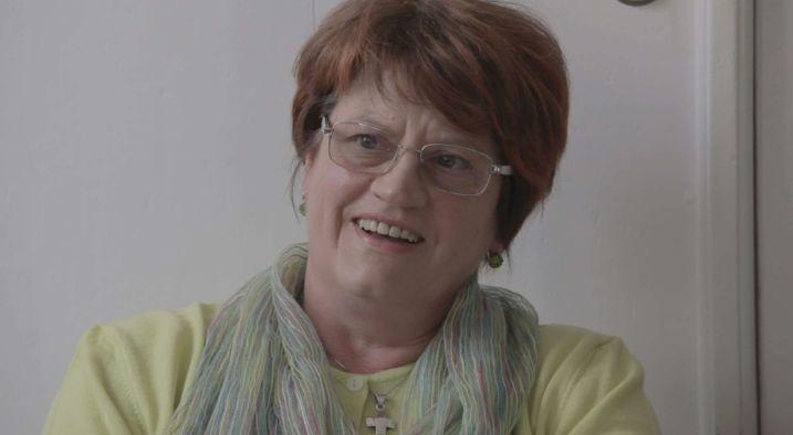 Genitori: il primo piano di una delle madri dell'Associazione di San Vito al Tagliamento