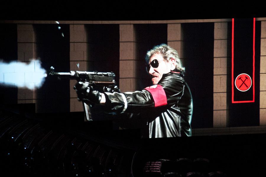 Roger Waters The Wall: una suggestiva immagine del film evento