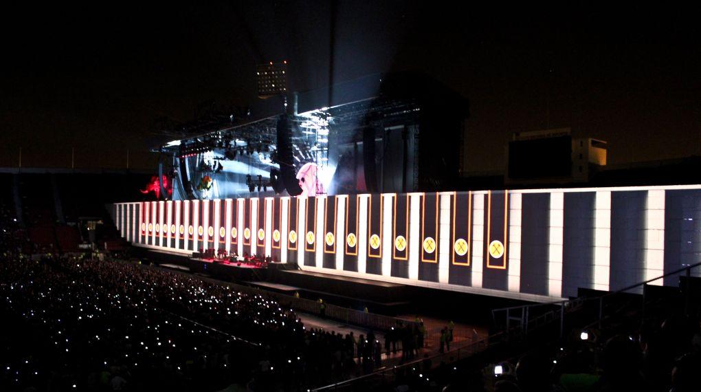 Roger Waters The Wall: una intrigante immagine tratta dal film evento