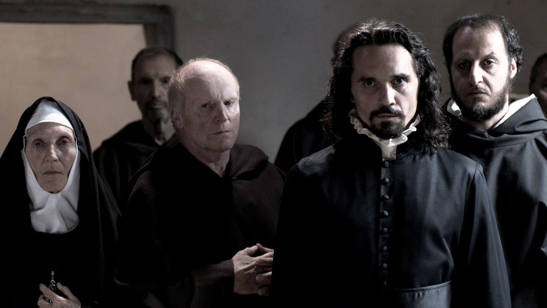 Pier Giorgio Bellocchio in una scena di Sangue del mio sangue