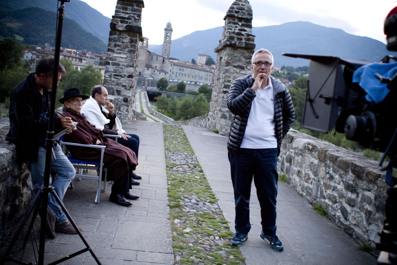 Sangue del mio sangue: Marco Bellocchio e Roberto Herlitzka sul set del film