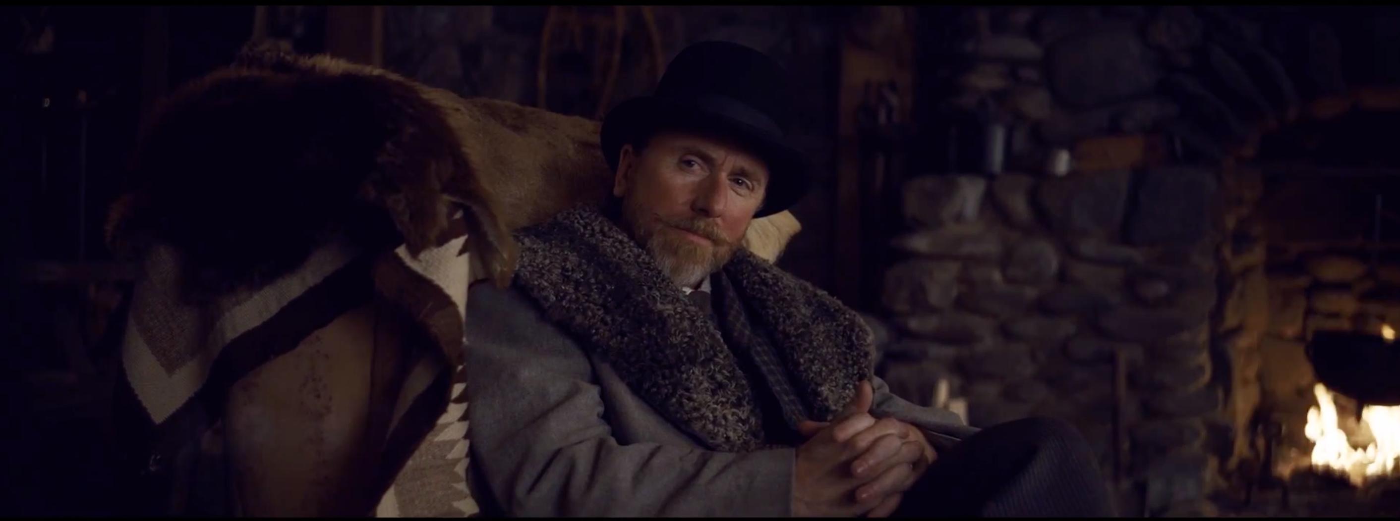 The Hateful Eight: Tim Roth in una scena del teaser trailer del film di Tarantino